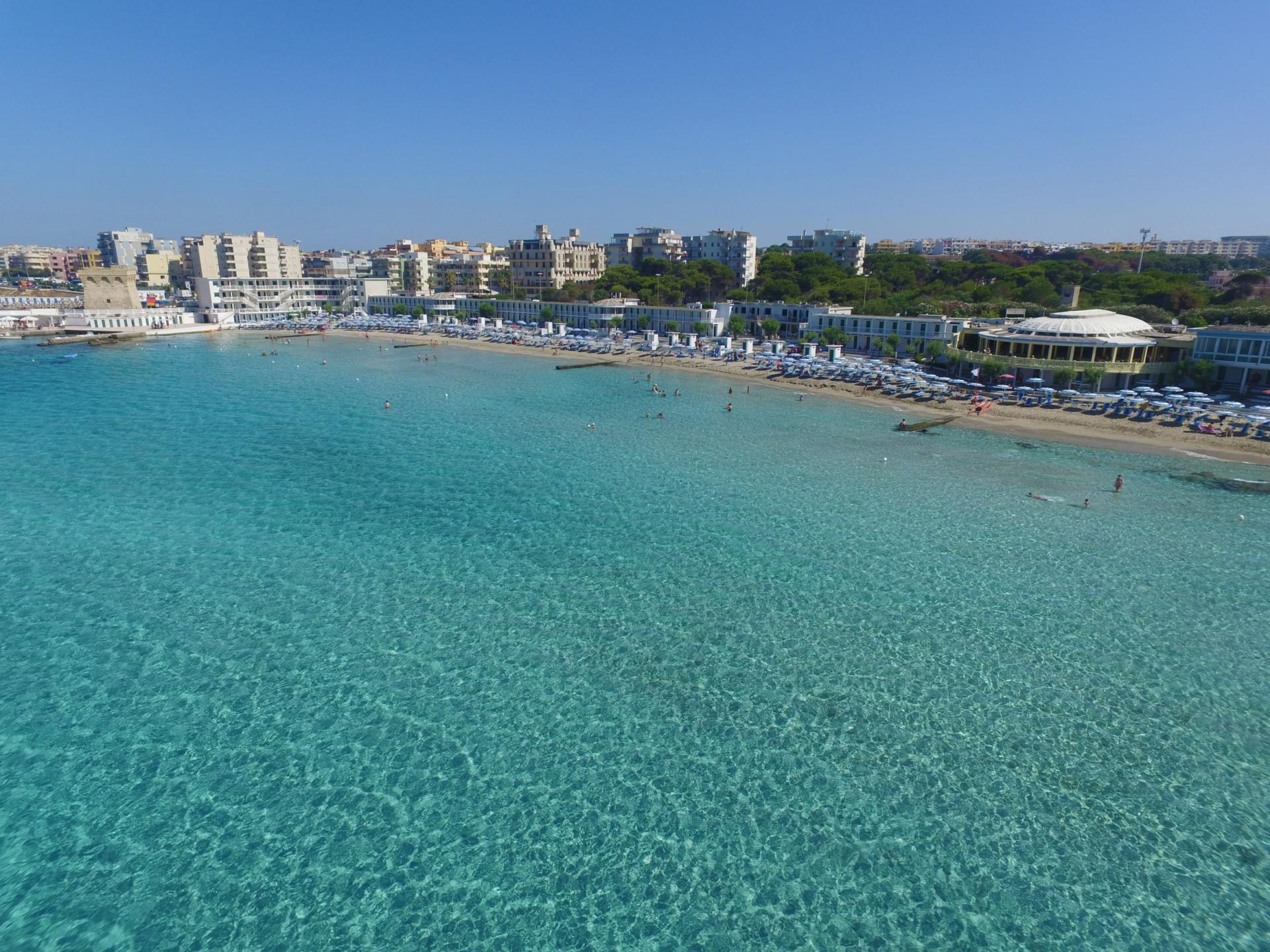 Matrimonio Spiaggia Gallipoli : Lido san giovanni